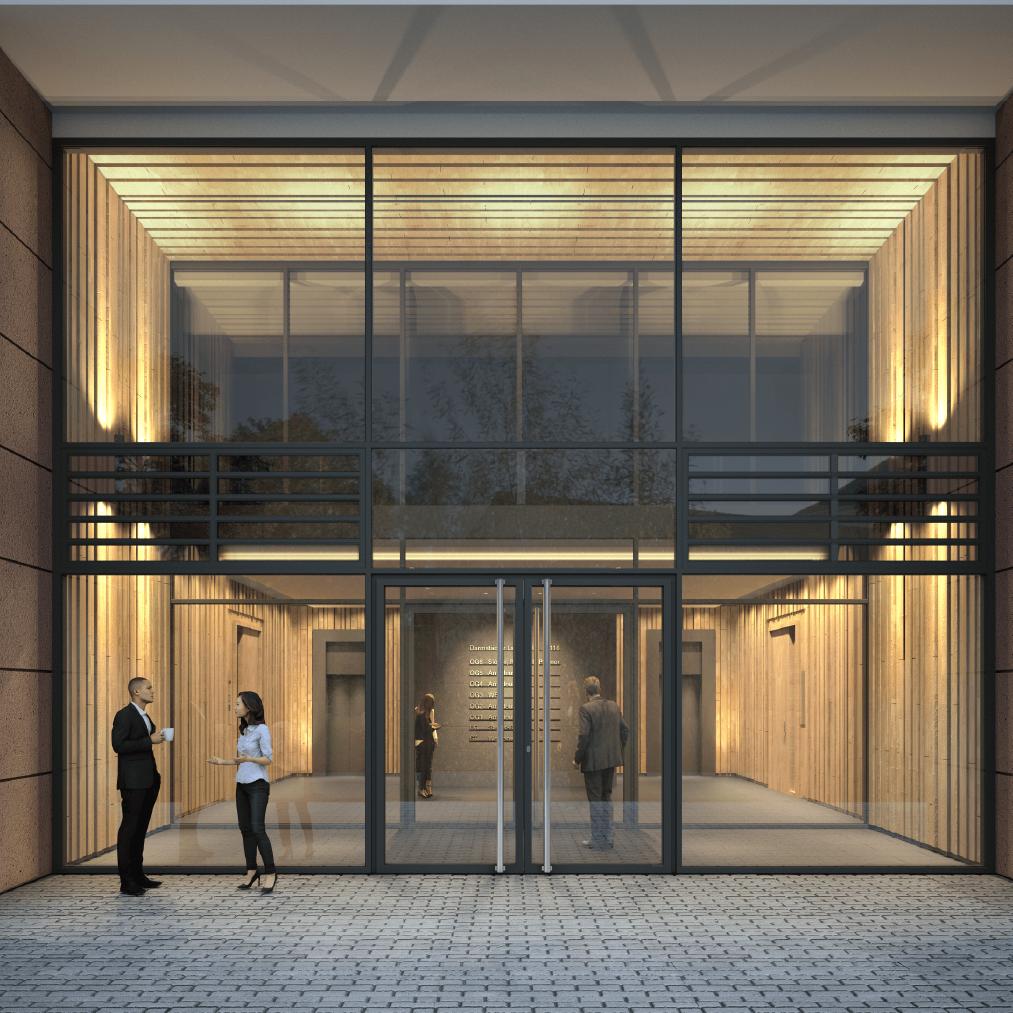 Innenvisualisierung I Eingangshalle
