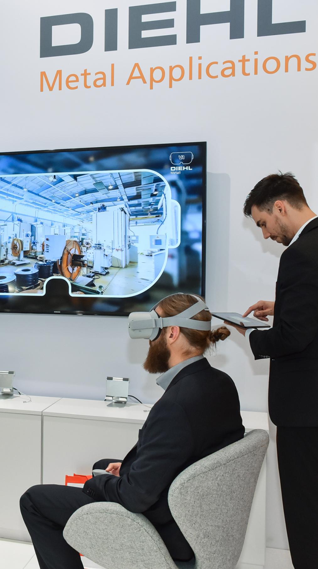 VR App </br>Diehl Metall