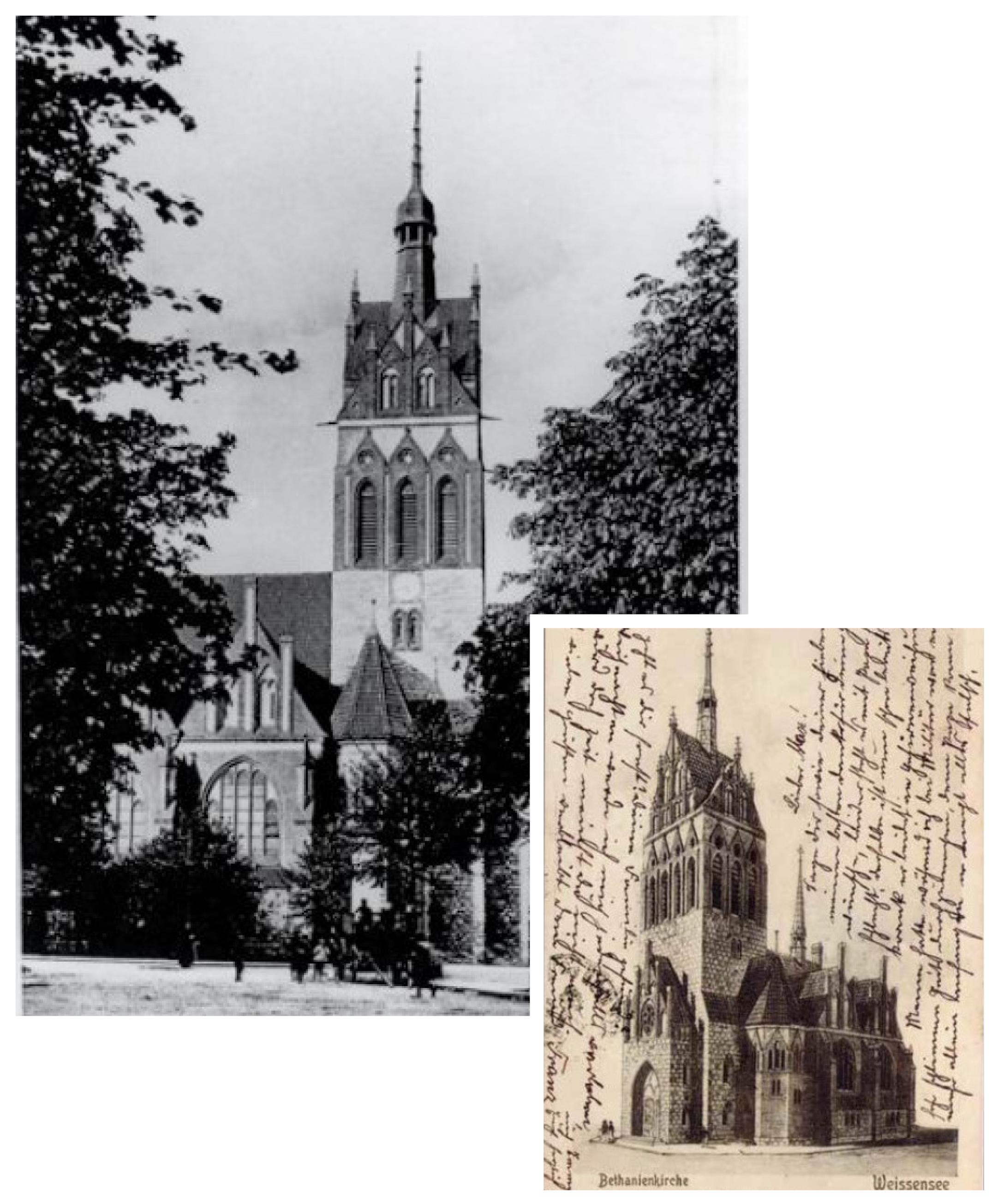 Bethanienturm Historie