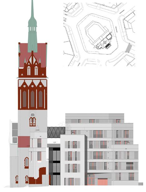Bethanienturm Plan